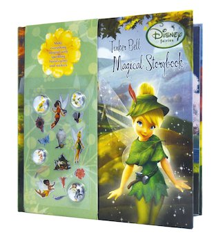 Disney Fairies Secret Jewel: Tinker Bell Magical Storybook