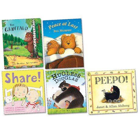 Favourite Authors Board Book Pack
