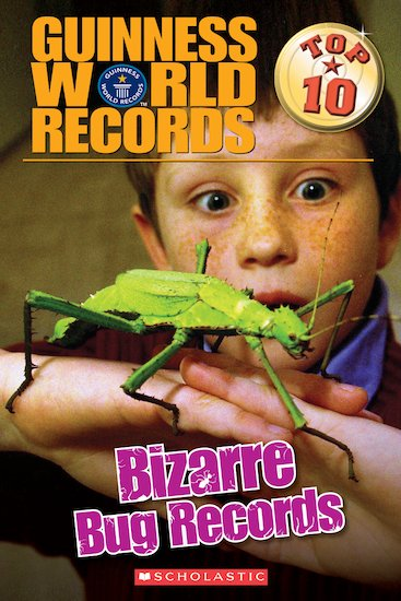 Guinness World Records: Top 10 Bizarre Bug Records