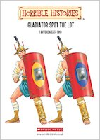 Gladiator spot difference 930740