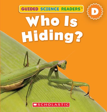 Guided Science Readers: Who is Hiding?