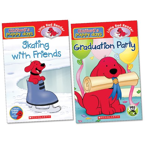 Clifford's Puppy Days Readers Pair