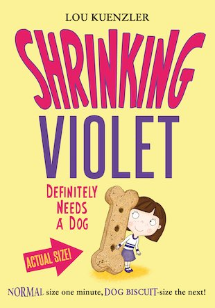 Shrinking Violet Definitely Needs a Dog