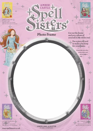 Spell Sister Activity Sheets