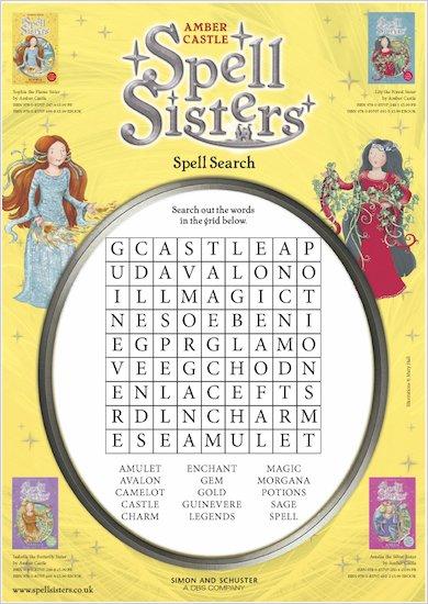 Spell Sisters Wordsearch