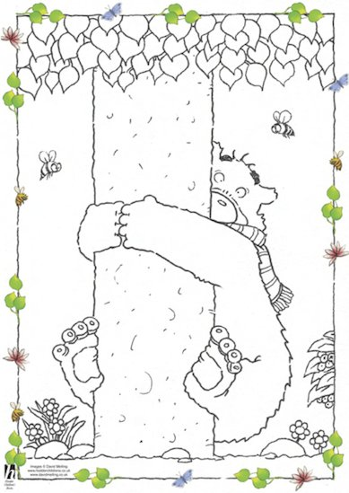 Hugless Douglas Colouring Sheets