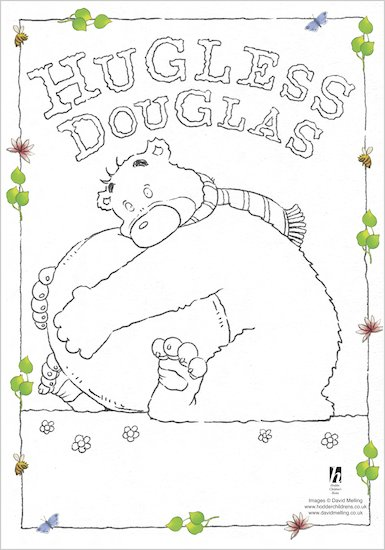 Hugless Douglas Colouring