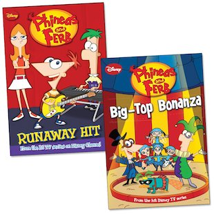 Phineas and Ferb Chapter Book Pair