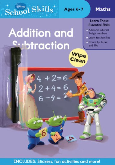 Disney School Skills: Toy Story: Addition and Subtraction