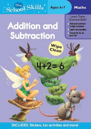 Disney School Skills: Disney Fairies: Addition and Subtraction
