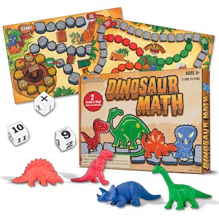 Dinosaur Math Game