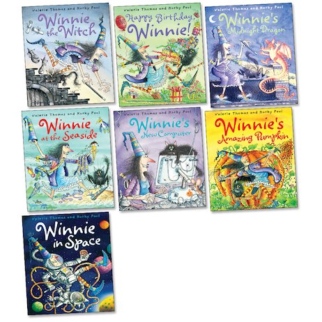 Winnie the Witch Picture Book Pack