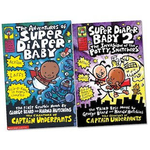 Super Diaper Baby Pair