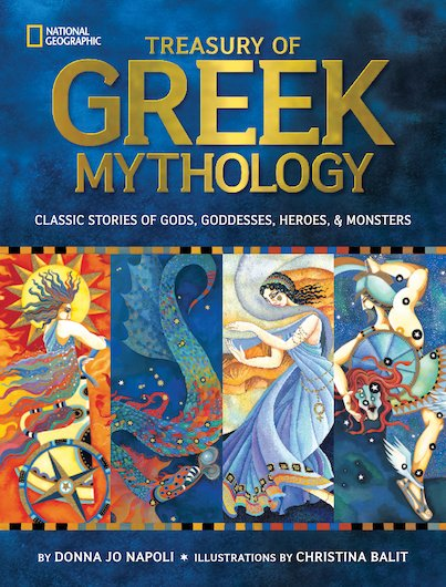 National Geographic: Treasury of Greek Mythology