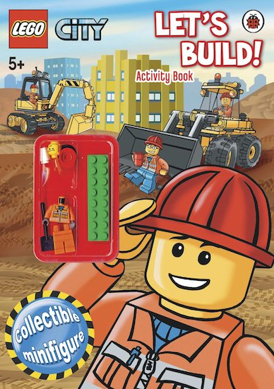LEGO® CITY™: Let's Build! Activity Book