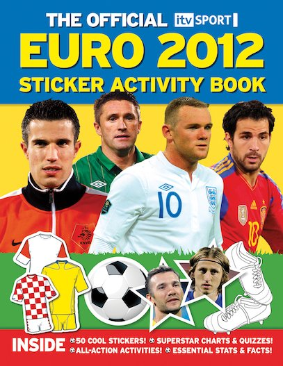 Euro 2012 Sticker Activity Book