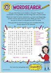 Tracy Beaker Wordsearch