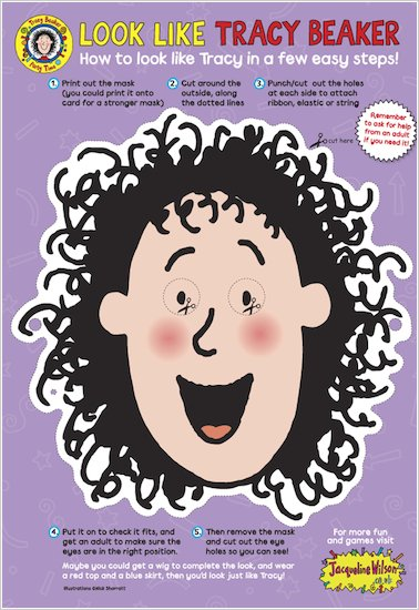 Tracy Beaker Mask
