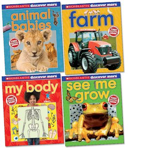 Discover More Ages 4-6 Pack x 4