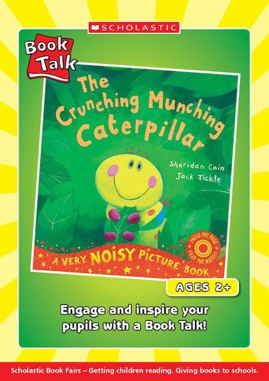 Book Talk - The Crunching Munching Caterpillar