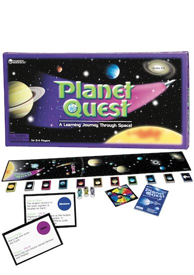 Planet Quest Board Game