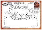 Make a Monstersaurus mask