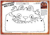 Make a Monstersaurus mask