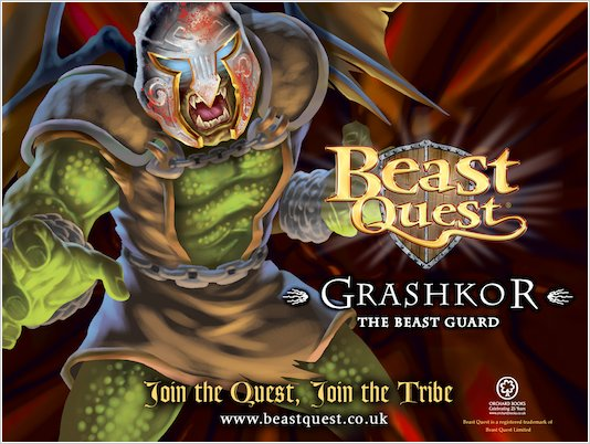 Beast Quest Grashkor wallpaper