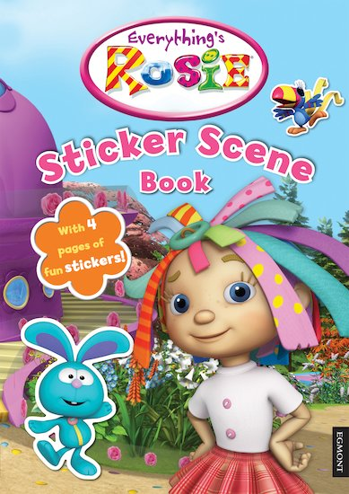 Everything's Rosie: Sticker Scene Book