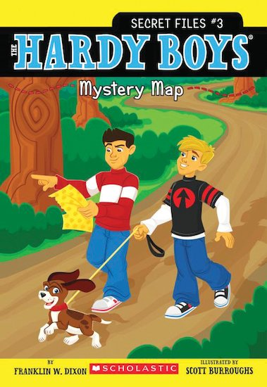 The Hardy Boys: Mystery Map