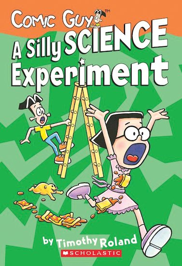 Comic Guy! A Silly Science Experiment