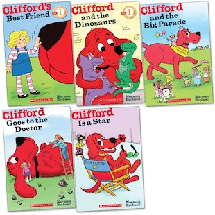 Scholastic Readers: Clifford Pack