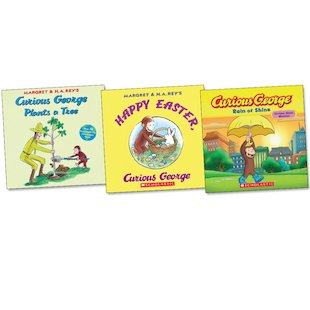 Curious George Trio