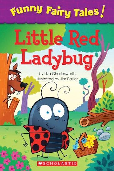 Funny Fairy Tales! Little Red Ladybug