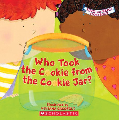 Sing and Read Storybook: Who Took the Cookie From the Cookie Jar?