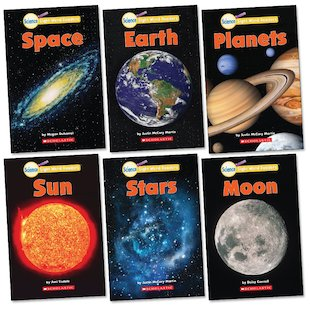 Science Sight Word Readers Pack: Planets