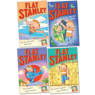 Flat Stanley Pack x 4