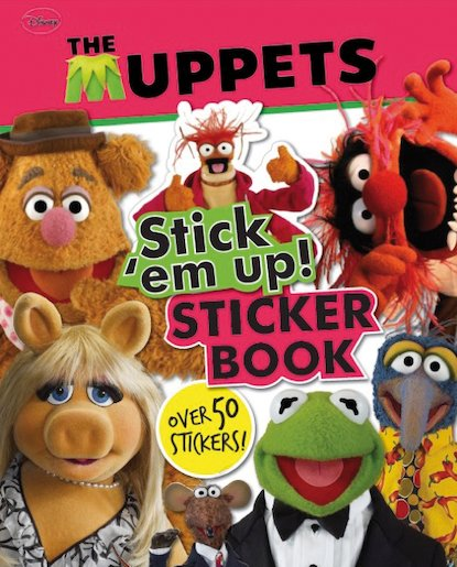 The Muppets: Stick 'Em Up! Sticker Book