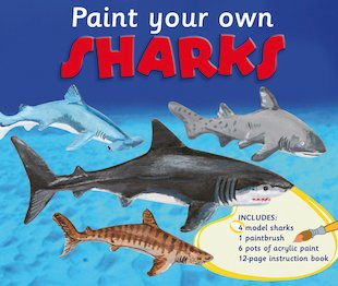Paint Your Own Sharks