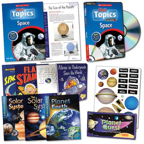 Hot Topics Resource Pack: Space