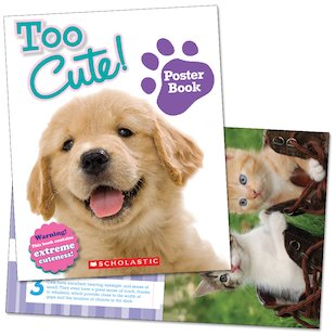 Too Cute! Poster Book