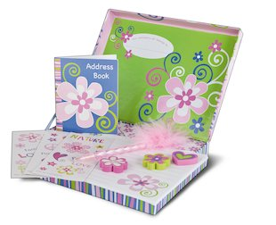 Secret Compartments Stationery Box