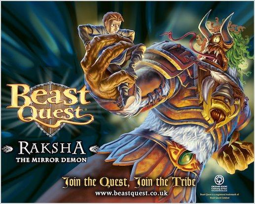 Beast Quest Raksha wallpaper