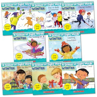 A Season of Sight Words: Winter Pack