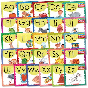 A to Z Library Pack