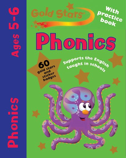 Gold Stars: Phonics (Ages 5-6)