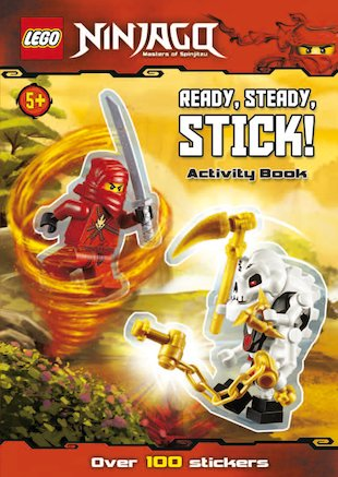 LEGO® Ninjago: Ready, Steady, Stick! Activity Book