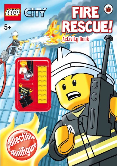 LEGO City: Fire Rescue! Activity Book