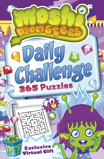 Moshi Monsters: Daily Challenge Puzzle Book