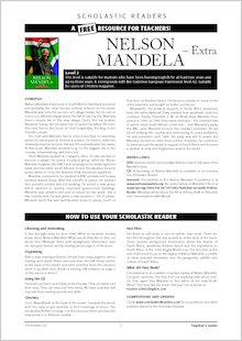 Nelson Mandela : Resource Sheet and Answers